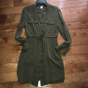 Old Navy Dresses - OldNavy Long Sleeve Tie Dress